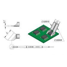 JBC C120 Tweezer Cartridge 6.0mm (RH)