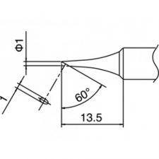 Hakko T18 Solder Tip Shape 1C
