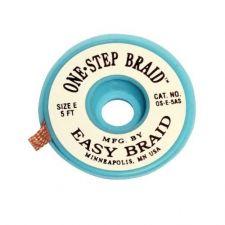 One Step Braid Solderwick 1.27mm X 1.5M