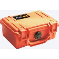 Pelican 1120 Case with Foam - Orange
