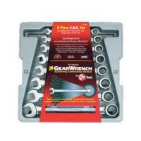 GearWrench Combination Ratcheting Wrench Set - Imp GW9308