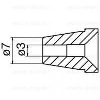 Hakko Desoldering Nozzle 3.0MM For FR-400