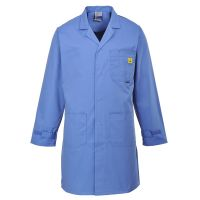 ESD Labcoat Light Blue Large (HP Style)